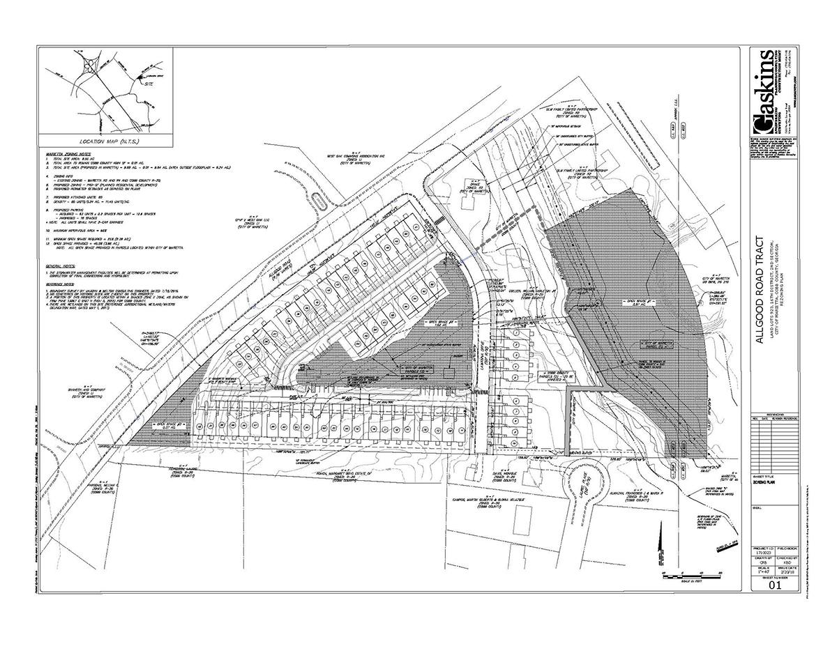 Allgood Road Rezoning Plan 3-2018b